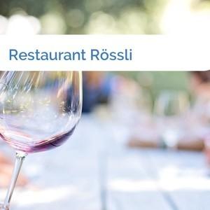 Bild Restaurant Rössli mittel