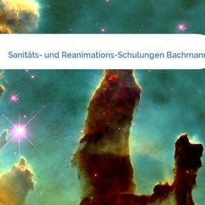 Bild Sanitäts- und Reanimations-Schulungen Bachmann mittel