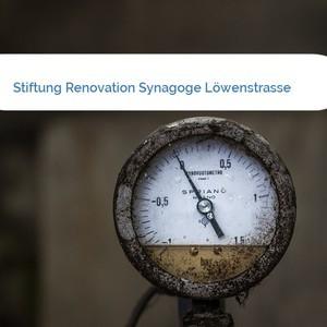 Bild Stiftung Renovation Synagoge Löwenstrasse mittel