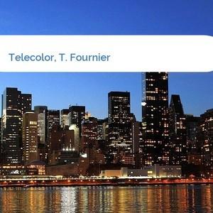 Bild Telecolor, T. Fournier mittel