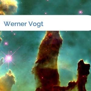 Bild Werner Vogt mittel